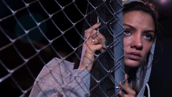 Escena de 'Iphigenia en Vallecas' de Serena Producciones