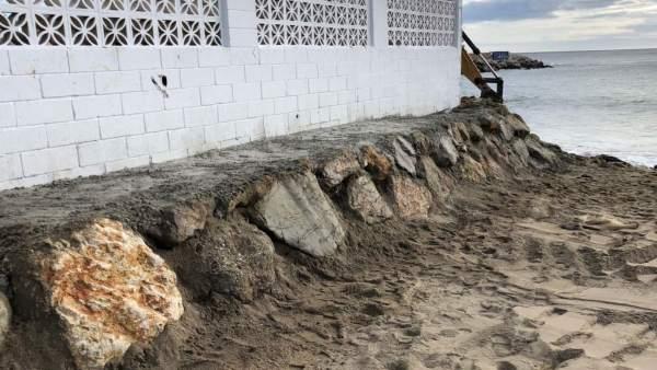 Muro puerto de fuengirola appa obras mejora junta APPA