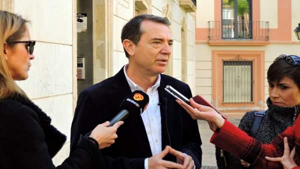 Pérez Navas, en declaraciones a los periodistas