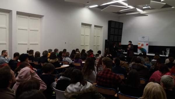 Un momento del taller sobre moda organizado por Andalucía Emprende