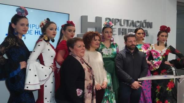 Nota De Prensa Y Fotos Presentación Pasarela Huelva Flamenca 2018