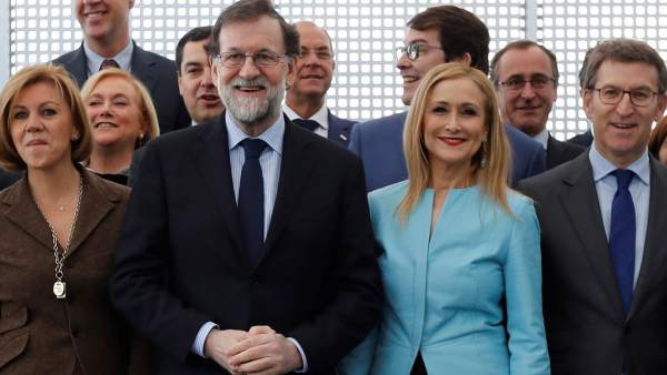 Reunión presidentes autonómicos del PP y Rajoy