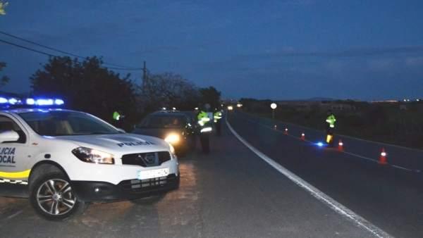 Control policía local Mallorca