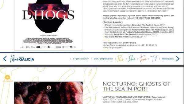 Catálogo 'Films from Galicia'