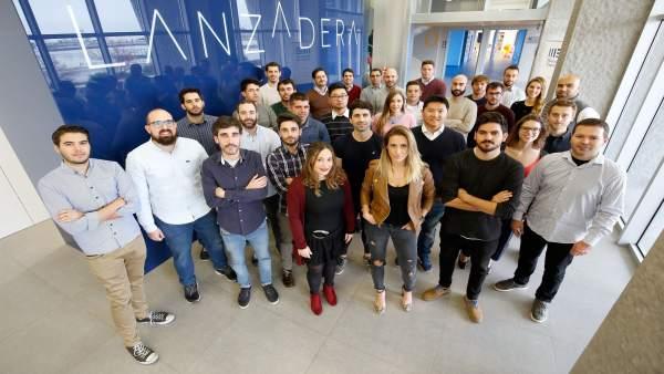 Nuevos emprendedores Lanzadera enero 2018