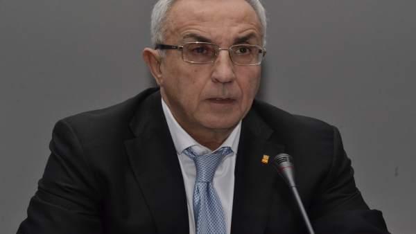 Alejandro Blanco presentando al Equipo Olimpico de PyeongChang 2018