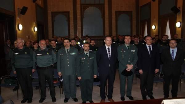 Autoridades en la inauguración del encuentro