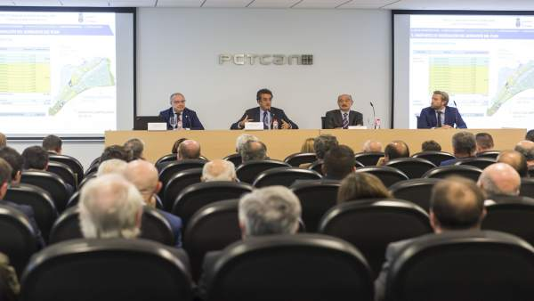 Francisco Martín y José María Mazón presentan el PSIR de El Llano de la Pasiega