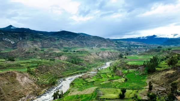 Cañón del Colpa, en Arequipa, Perú