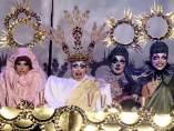 La última cena, por Drag Sethlas en el Carnaval de Las Palmas