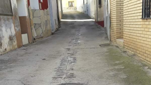 El Ayuntamiento de Terrer renovará la calle Portillo