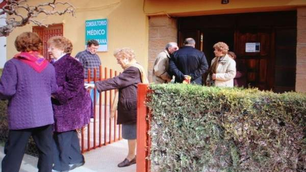 Consultorio médico de Chiprana (Zaragoza)