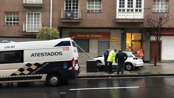Accidente en Fernando III El Santo en Santiago