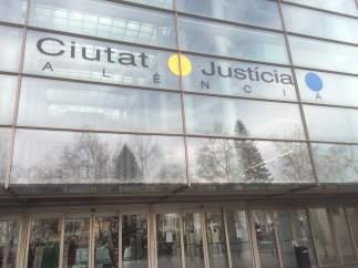 Fachada de la Ciudad de la Justicia