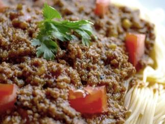 Plato de pasta (public domain)
