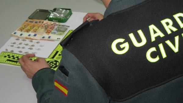 Operación Cansecre contra el tráfico de drogas en Cangas (Pontveedra)