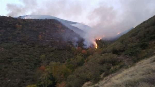 Incendio Posadas (La Rioja) octubre 2017