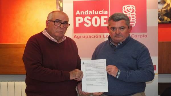 Benavides y Ruiz muestran el auto judicial que afecta a Sánchez