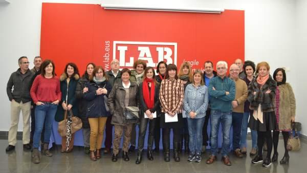 Trabajadores del Eustat