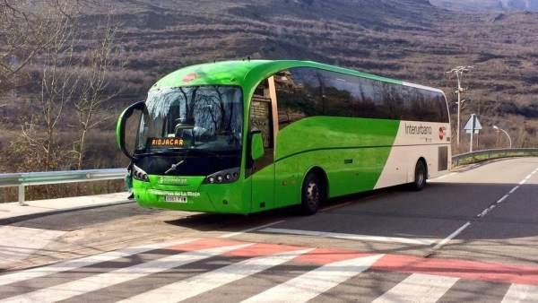 Autobus interurbano de La RIoja