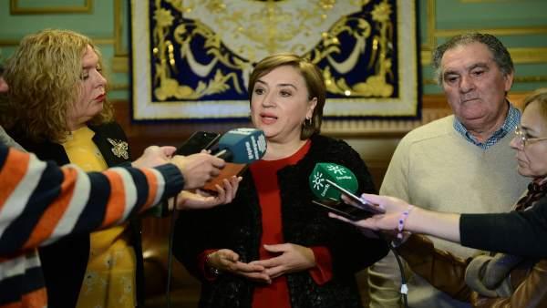 La delegada del Gobierno andaluz en Granada, Sandra García.