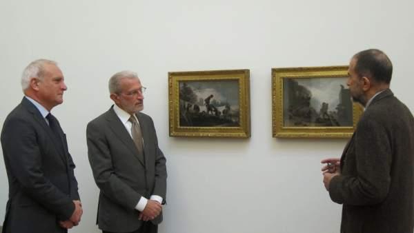 El Sant Pius V renova l'acord per a seguir exhibint dos quadres de Goya de la Fundació Tarazona Blanch