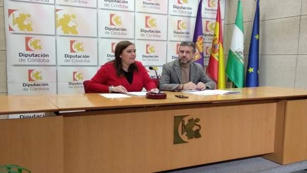 Carrillo y Sánchez, durante lal rueda de prensa