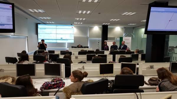 Jornadas de puertas abiertas en el centro del 112 Andalucía.
