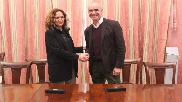 Firma del acuerdo sobre Altadis