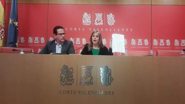 """Ortiz (PP) respon Oltra: """"Si el que vol és intimidar no ho va a aconseguir, no faig un pas arrere mai"""""""
