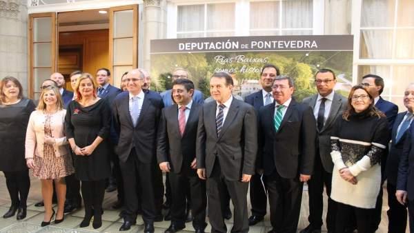 Comisión de Diputaciones en Pontevedra