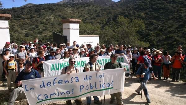 Marcha de Ecologistas en Acción