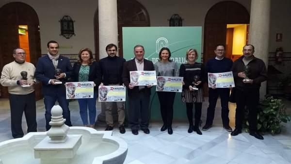 Presentación de los Premios Zabaleta del Año 2017.