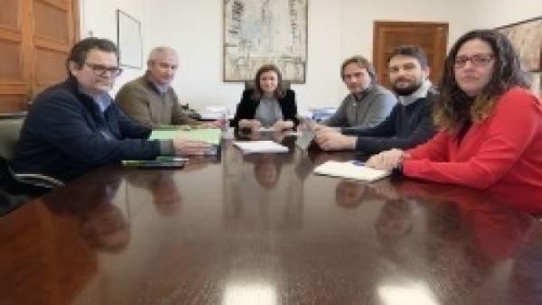 Reunión del Consell con Aptur