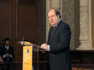 Herrera en la presentación del Año Europeo del Patrimonio Cultural