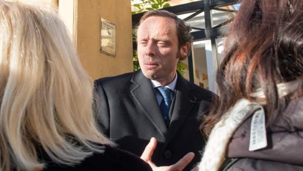 Javier Rincón, abogado de la militar que denuncia agresión sexual en Antequera