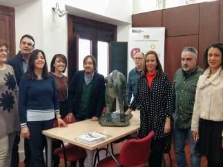 La consejera de Cultura visita la Comarca Comunidad de Teruel