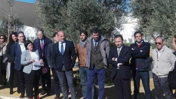 Gil-Toresano ha inaugurado el Parque Olivar del Castillo