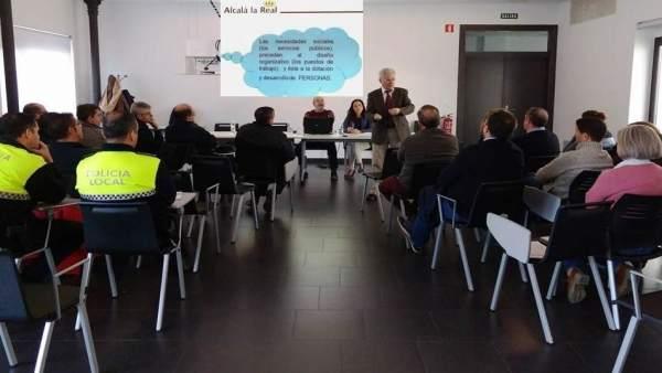 Sesión informativa sobre la actualización de la RPT del Ayuntamiento alcalaíno.