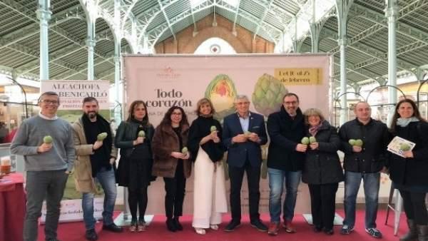 Jornadas de la alcachofa en el Mercado de Colón