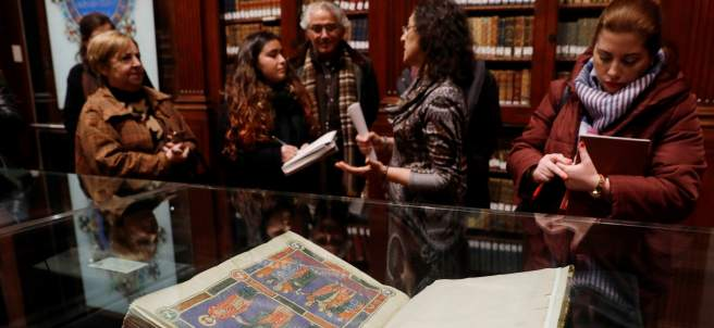 Exposición de incunables en la Universitat de València