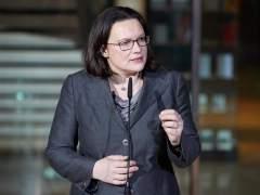 Andrea Nahles, la primera presidenta en la historia del Partido Socialdemócrata alemán