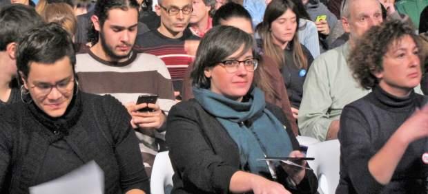 Mireia Boya, miembro de la CUP, acude a declarar este miércoles.