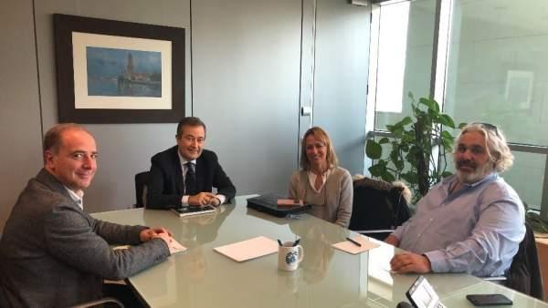 Reunión de Pimeco con la APB