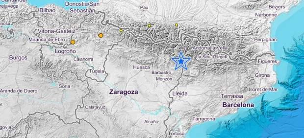 Terremoto en Sopeira (Huesca)