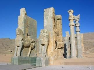 Puerta de las naciones, en Persepolis.