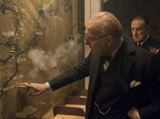 Tres horas y media para ser Churchill