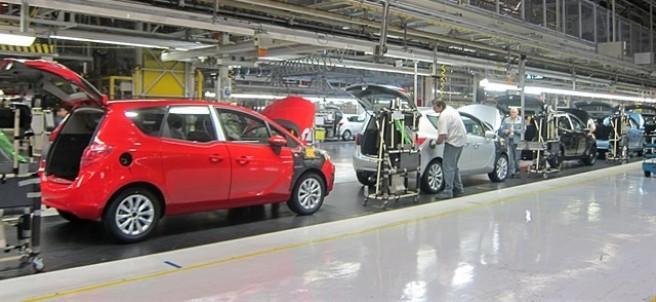 Planta de Opel en Figueruelas