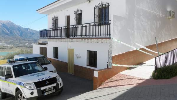 Asesinato machista en La Viñuela