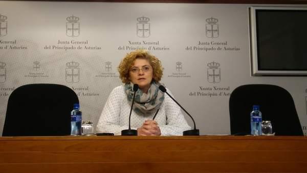 La diputada del PP en la Junta, Gloria García